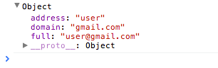 The mailcheck suggestion object